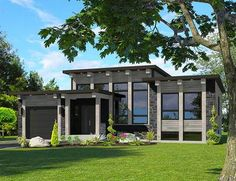 Plan 90286PD: Attractive Modern House Plan