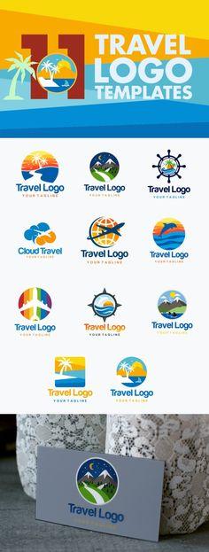 11 Travel Logo Templates. Travel Infographics. $5.00