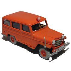 29057 / 2118057 - Firemen Jeep / De Jeep van de brandweerlui - De zaak Zonnebloem