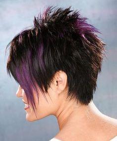 short razor haircut back view | Alternative Short Straight Hairstyle - - 8543 | TheHairStyler.com