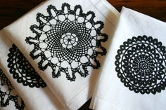 OOOh, these marvelous napkins must become mine at some point soon. They are soooo luscious!