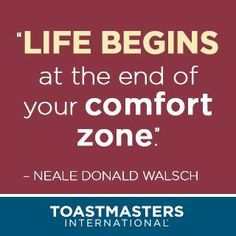 Some inspiration from Toastmasters International