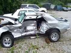 Learn All About Vehicle Repair In This Article. Are you worried about making decisions involving your auto repair and maintenance? Have you wanted to make sure you can fix a vehicle yourself if a problem Auto Body Repair, Car Repair, Vehicle Repair, Junkyard Cars, Damaged Cars, Collision Repair, Epic Fail Pictures, Big Rig Trucks, Chevy Camaro