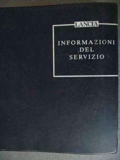 Lancia Service Bulletins Manual 1992 £19.99