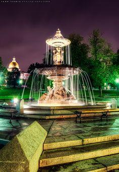 Brewer Fountain - Boston Common, Boston, Massachusetts