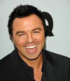 Seth MacFarlane, most contagious smile ever.