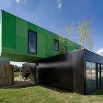 Indrukwekkende woningen waarvan je niet zou zeggen dat het containers zijn