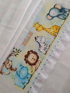Textiles, Safari, Baby, Painting, Bath Towels & Washcloths, Kids Coloring, Baby Painting, Original Wallpaper, Baby Things