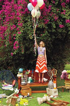 These spring looks from Anthropologie have us ready to frolic outdoors! Picnic, anyone? Think, Plein Air, A Line Skirts, Editorial Fashion, Spring Fashion, Ideias Fashion, Eye Candy, Casual, Anthropologie