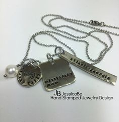 Missionary Mom Bicycle Necklace LDS Missionary by JessicaBe