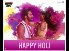 Let love be the color of the season! Wishing you all a very from Badri & his Dulhania! Cute Seals, Cute Love Couple, Varun Dhawan, Happy Holi, Alia Bhatt, Bollywood, Couples, Color, Colour