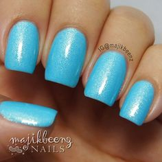 """Nails - """"Whimsy"""" by Picture Polish --- Instagram @majikbeenz"""