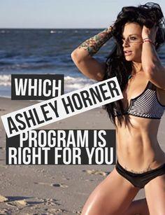 ashley horner fat pierdere)