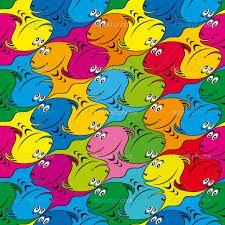 """Résultat de recherche d'images pour """"pavage poisson escher modèle"""""""