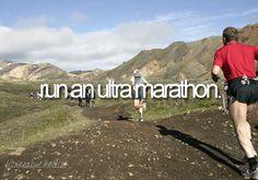 Ultra-marathon.
