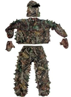 3d camo suit Has one just like this!