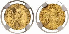 AV Ducat. Russian Coins. Peter I. 1689-1725. 1703. 3,30g. Fr 87. Of the Greatest rarity. Good EF. Price realized 2011: 230.000 USD.
