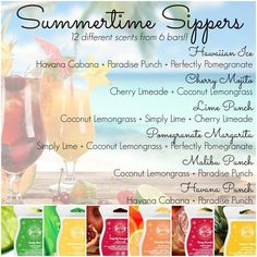 Check my website, where you can order all of these wonderful scents!!!! https://whitdaly.scentsy.us