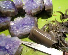 как делать мыло камни