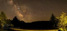 Milky Way across the field  A view taken last night of the Milky Way across a partially lit field in Georgian Bluffs Township Grey County Ontario Canada on a windy summer night.  The photo consists of a horizontal panorama of 3 shots assembled in Lightroom 6.  Camera: Canon EOS 6D Lens: 24mm ƒ1.4 SIGMA Art Focal Length: 24mm Shutter Speed: 19sec Aperture: f/1.4 ISO/Film: 1250  Image credit: http://ift.tt/2a3Czzl Visit http://ift.tt/1qPHad3 and read how to see the #MilkyWay  #Galaxy #Stars…