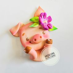 Biscuit, Gum Paste Flowers, Pasta Flexible, Cold Porcelain, Piggy Bank, Cake Toppers, Fondant, Polymer Clay, Christmas Ornaments