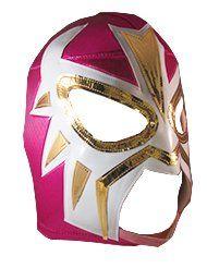 Amazon.com: LA MASCARA Adult Lucha Libre Wrestling Mask (pro-fit) Costume Wear - Hot Pink: Sports & Outdoors