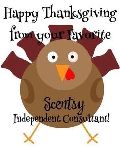 Scentsy Happy Thanksgiving http://love-that-smell.scentsy.us