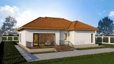 case mici sub 100 de metri patrati Small houses under 100 square meters 5 Square Meter, Home Fashion, 98, Metal, Mansions, Architecture, House Styles, Small Houses, Interior
