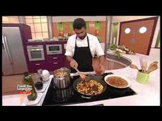 Como hacer Arroz Chino Frito - Receta de Arroz con Langostinos o Camarones - YouTube
