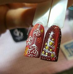 Super nails christmas step by step art designs 39 Ideas Christmas Nail Art Designs, Winter Nail Designs, Winter Nail Art, Winter Nails, Christmas Manicure, Xmas Nails, Holiday Nails, Pink Nails, Nail Art Noel