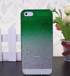 3D Raindrops Gradient Mobile Phone Case For Iphone