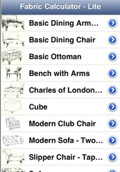 FABRIC CALC APP REVIEW. SlipcoversReupholster Couch EconomicsUpcyclingAppsChair