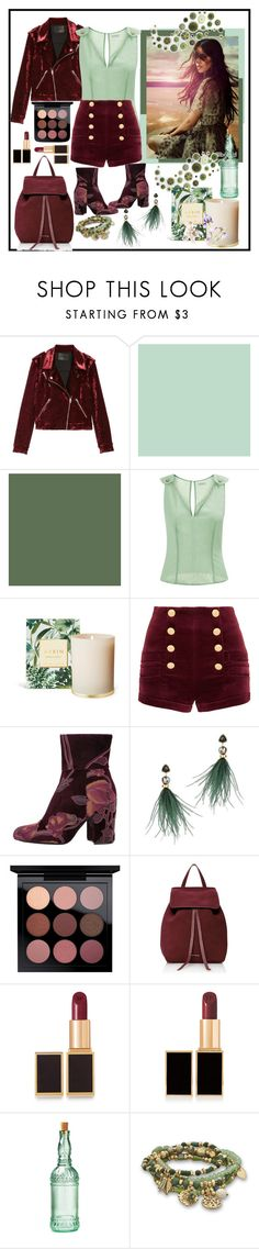 """""""A bottle of red and a green bottle of white!"""" by onesweetthing ❤ liked on Polyvore featuring BLANKNYC, La Perla, Pierre Balmain, Steve Madden, Lizzie Fortunato, Mansur Gavriel, Tom Ford, Bormioli Rocco and BillyTheTree"""