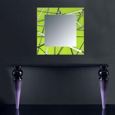 Specchi | nero   SI-095-SPXL | 180x60 cm con particolari in acciaio inox   SI-095-SP | 134x54 cm con particolari in acciaio inox