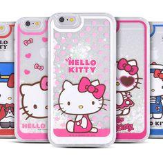 Authentic Hello Kitty Aqua Case Galaxy S6 Case Galaxy S6 Edge Case 5 Types Case #HelloKitty