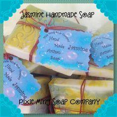 Jasmine Handmade Soap 7 oz         If you by PixieMingSoapCompany