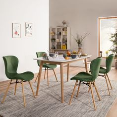 Upholstered dining room chairs Dining chairs with comfortable upholstery - Design della cucina Chair Upholstery, Upholstered Chairs, Chaise Design Pas Cher, Living Room Remodel, Dining Room Chairs, Home Furniture, Textiles, Interior, Home Decor