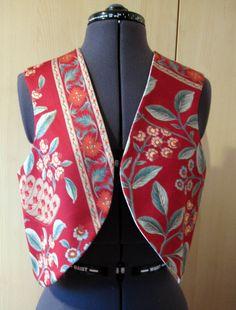 Ladies Reversable Waistcoat £25.00 Diane's Designs on Folksy.com