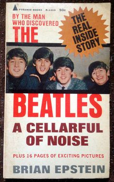 New on Etsy, from 1965 Brian Epstein's chronicle of Beatlemania. Please click on the image to be directed to the listing.