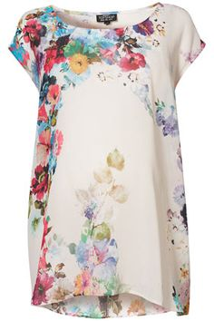 Maternity Pretty Blossom Tee. Cute but $72 though?! I'll look for a cheaper version!