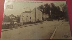 .Les Laumes. Route de Montbard