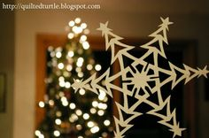 The Quilted Turtle: Perfect Snowflakes Every Time