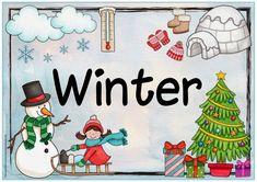 """Ideenreise: Jahreszeitenplakat """"Winter""""                                                                                                                                                                                 Mehr"""