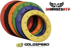 $114.95 4-Goldspeed-and-DWT-8-and-10-Carbon-Fiber-Replacement-Beadlock-Rings