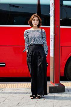Han Jiyeon, SEOUL FASHION WEEK 2016 F:W