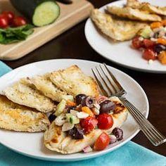 Chicken with Greek Salsa