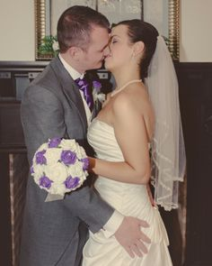 As featured on http://www.mrspandp.com/real-wedding-features/an-elegant-nottingham-wedding-at-goosedale-with-beautiful-accents-of-cadbury-purple/  An elegant Nottingham Wedding at Goosedale with beautiful accents of Cadbury purple