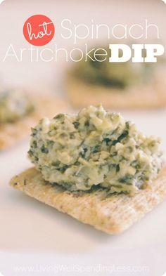 Best Artichoke Spinach Dip Recipe | Slow Cooker Spinach Artichoke Dip