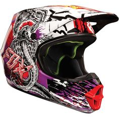 Fox Racing Pestilence Men's V1 MotoX/Off-Road/Dirt Bike Motorcycle Helmet - http://downhill.cybermarket24.com/fox-racing-pestilence-mens-v1-motoxoffroaddirt-bike-motorcycle/