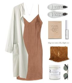 """""""Clean Sneakers"""" by starit ❤ liked on Polyvore featuring La Garçonne Moderne, Yves Saint Laurent, Ray-Ban, Lord & Berry and Tiffany & Co."""